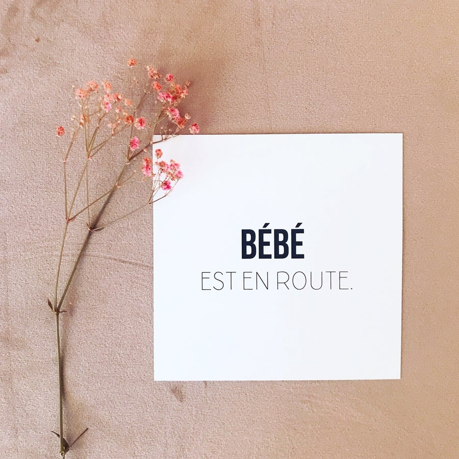 Image of Cartes étapes de Bébé Mixte