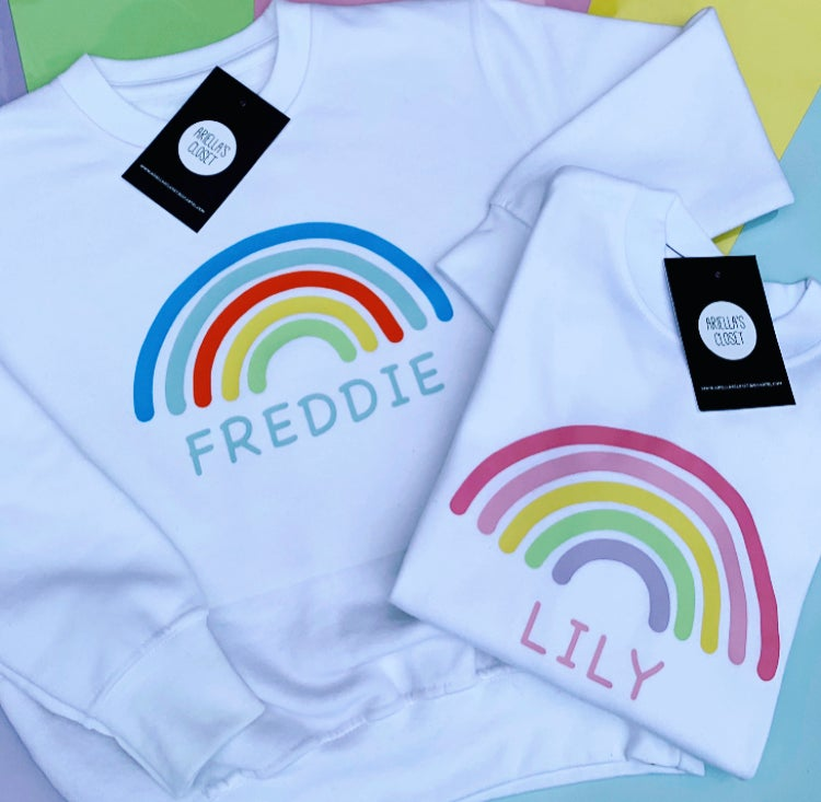 Image of Personalised Rainbow