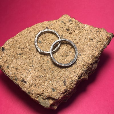 Image of Hand Hammered ring
