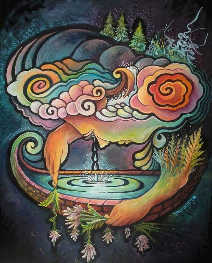 """Image of """"The Joyous Lake"""""""
