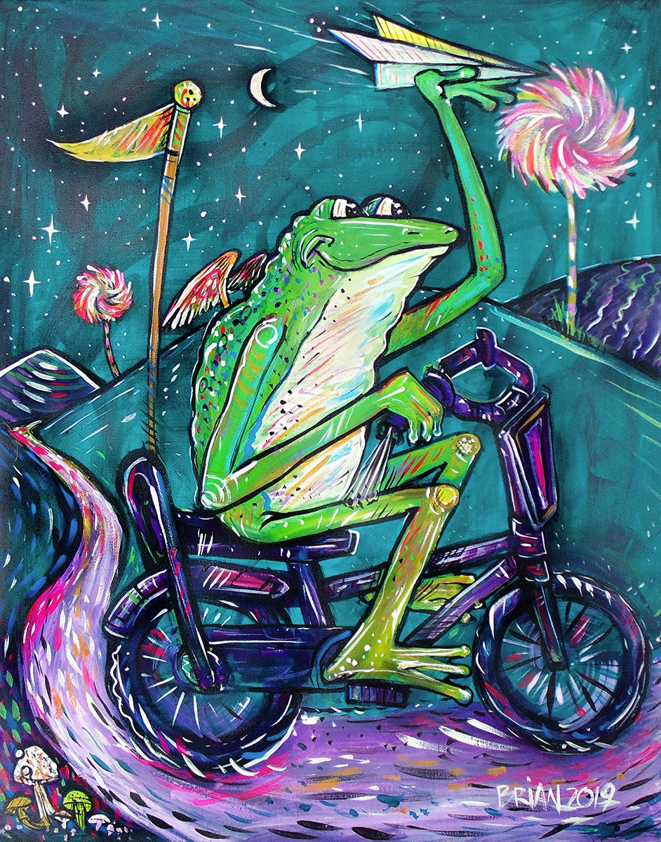 Image of Bicycle Frog