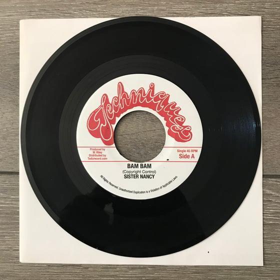 Image of Sister Nancy - Bam Bam 7 Inch Vinyl