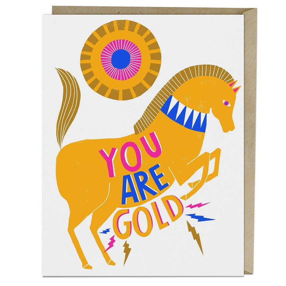 Image of You Are Gold Card