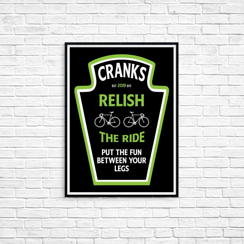 Cranks Sauce Collection - Relish The Ride