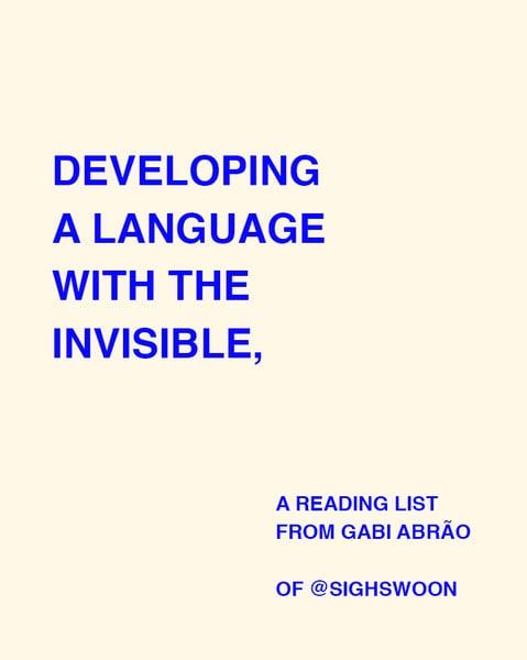 Image of PDF: READING LIST