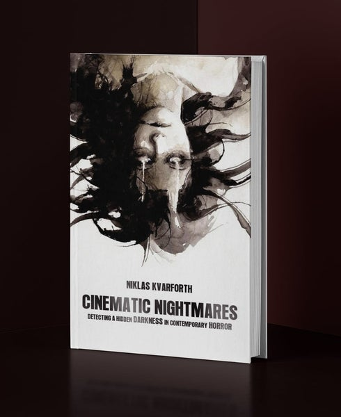 "Image of Niklas Kvarforth ""Cinematic Nightmares"" Hardcover BOOK"