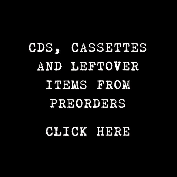Image of CDS, CASSETTES AND LEFTOVERS