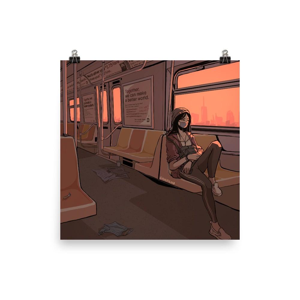 NYC Subway Print