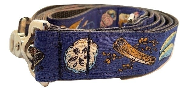 Beach Shell navy - Dog Leash