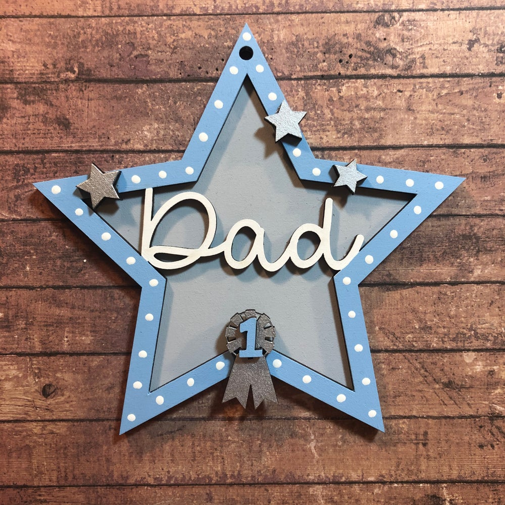 Image of Fathers Day 'No 1' Star