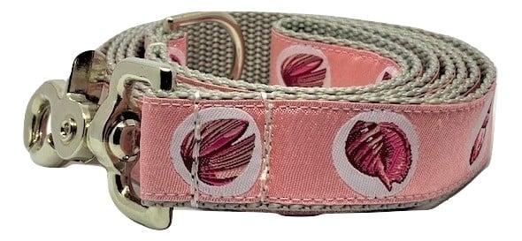 Seashells pink - Dog Leash