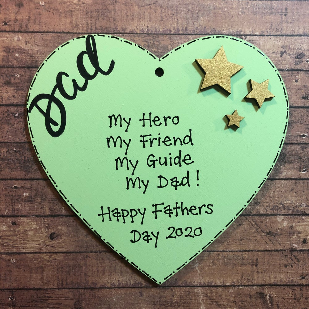 Image of Fathers Day Heart (large)