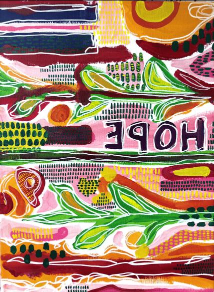 "Image of ""'Hope' by Corita"" Print"
