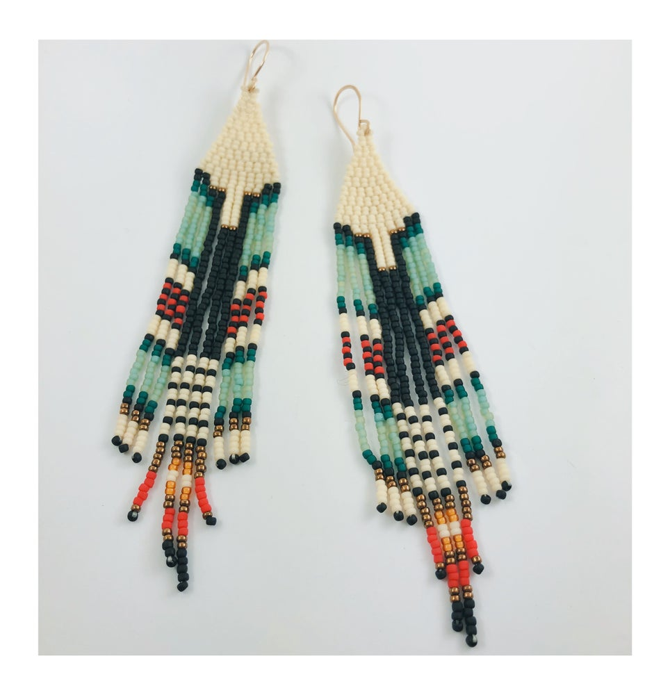 Image of Tail Feather Beads