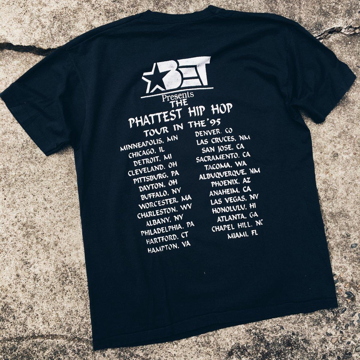 Image of Original 1995 BET Tour Rap Tee.