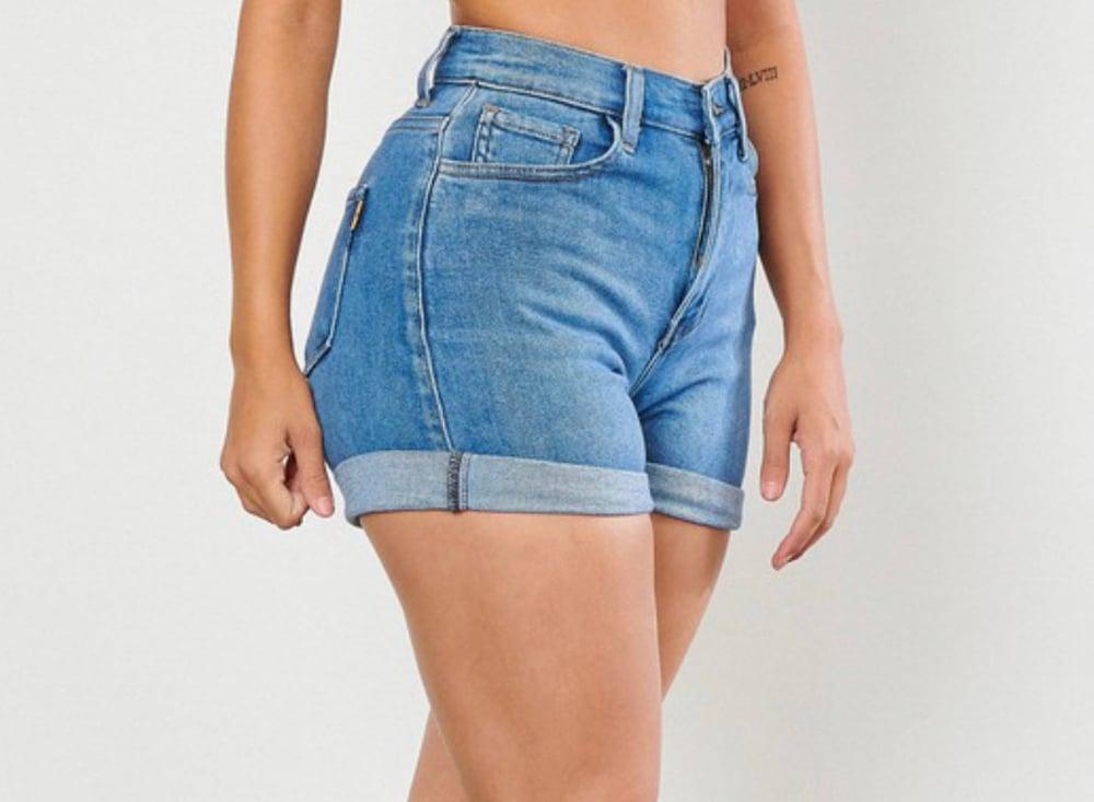 Image of Medium Wash   Shorts