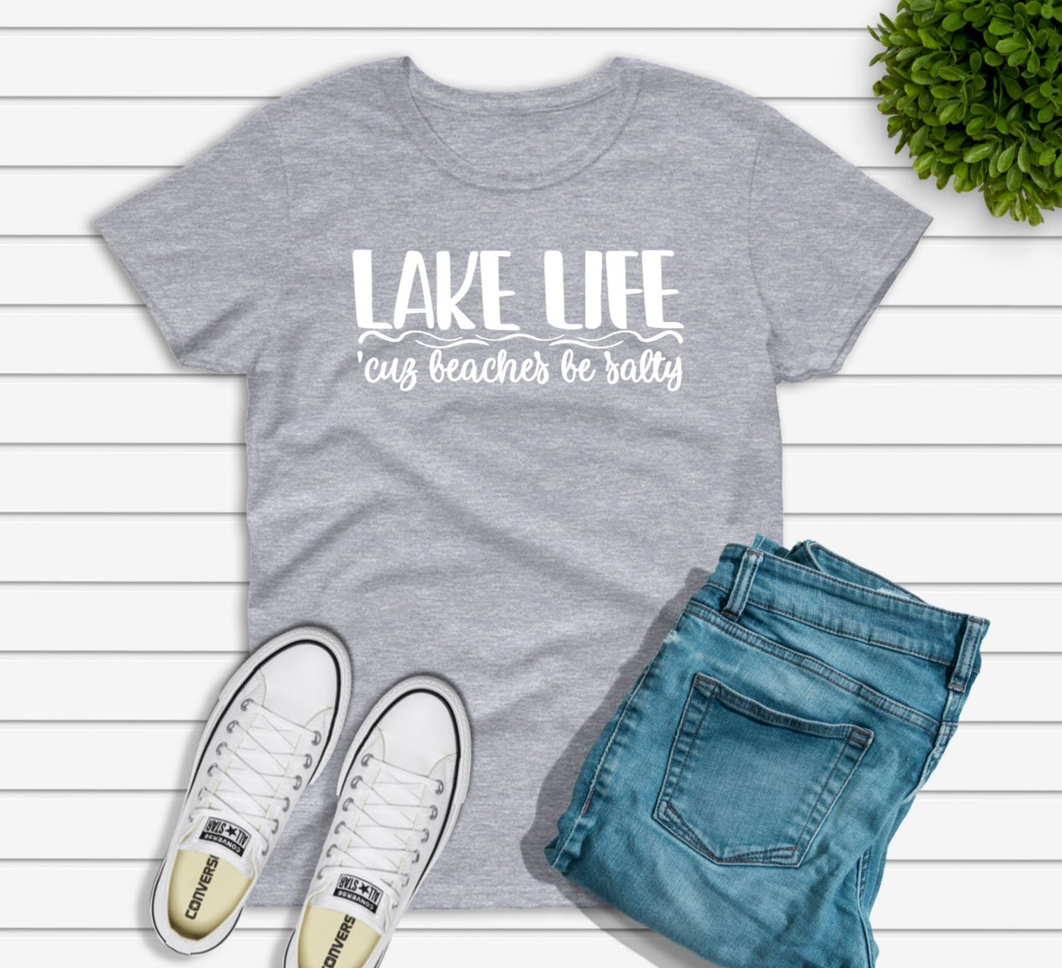 Image of LAKE LIFE 'CUZ BEACHES BE SALTY