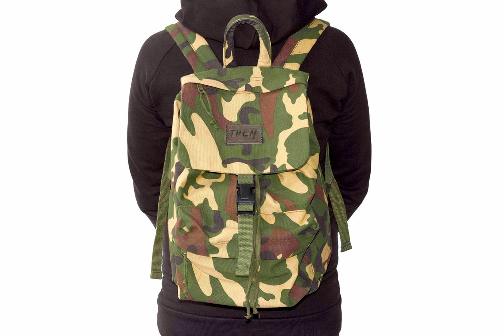 Image of Daypack - Woodland Camo