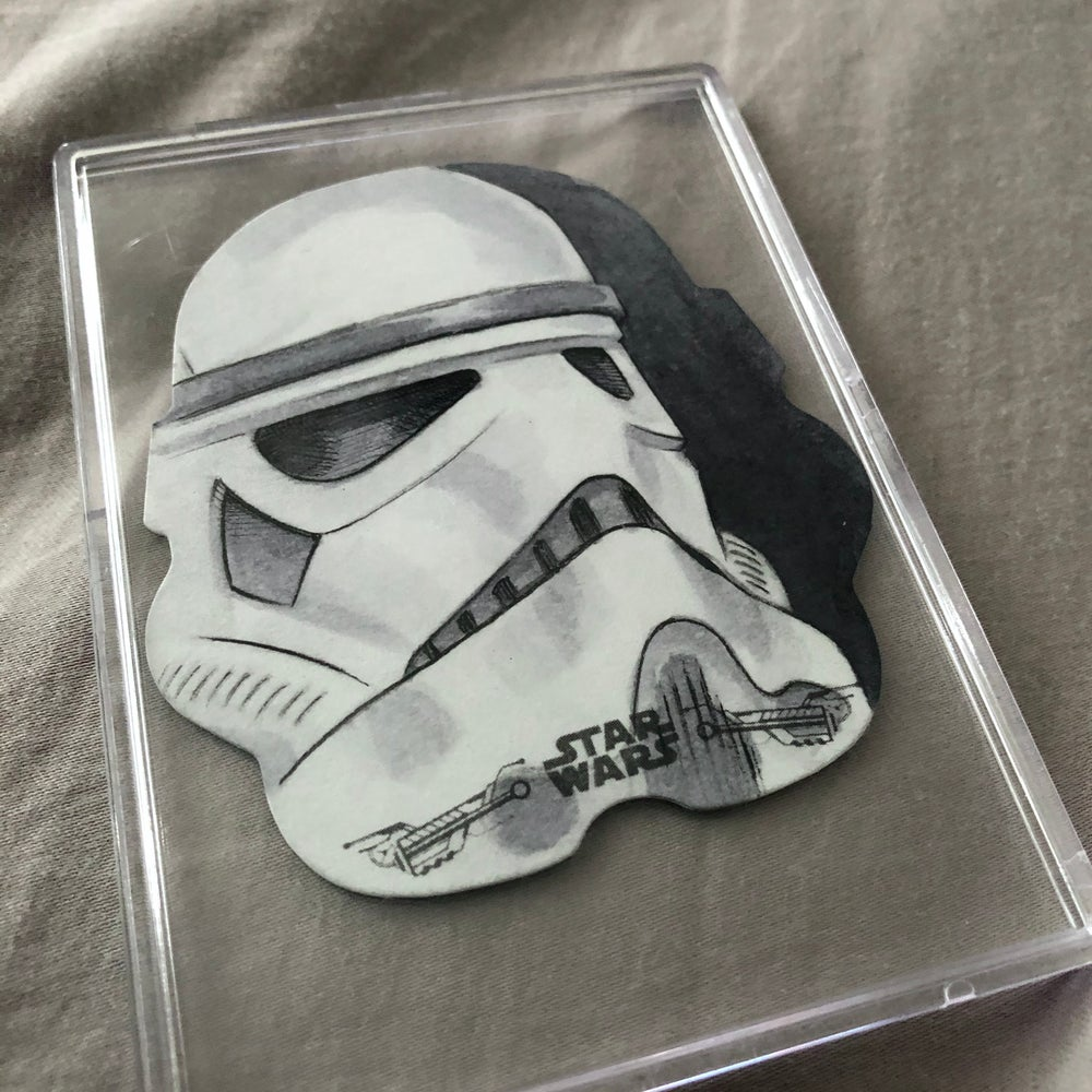 Storm trooper (official Topps Sketch card)