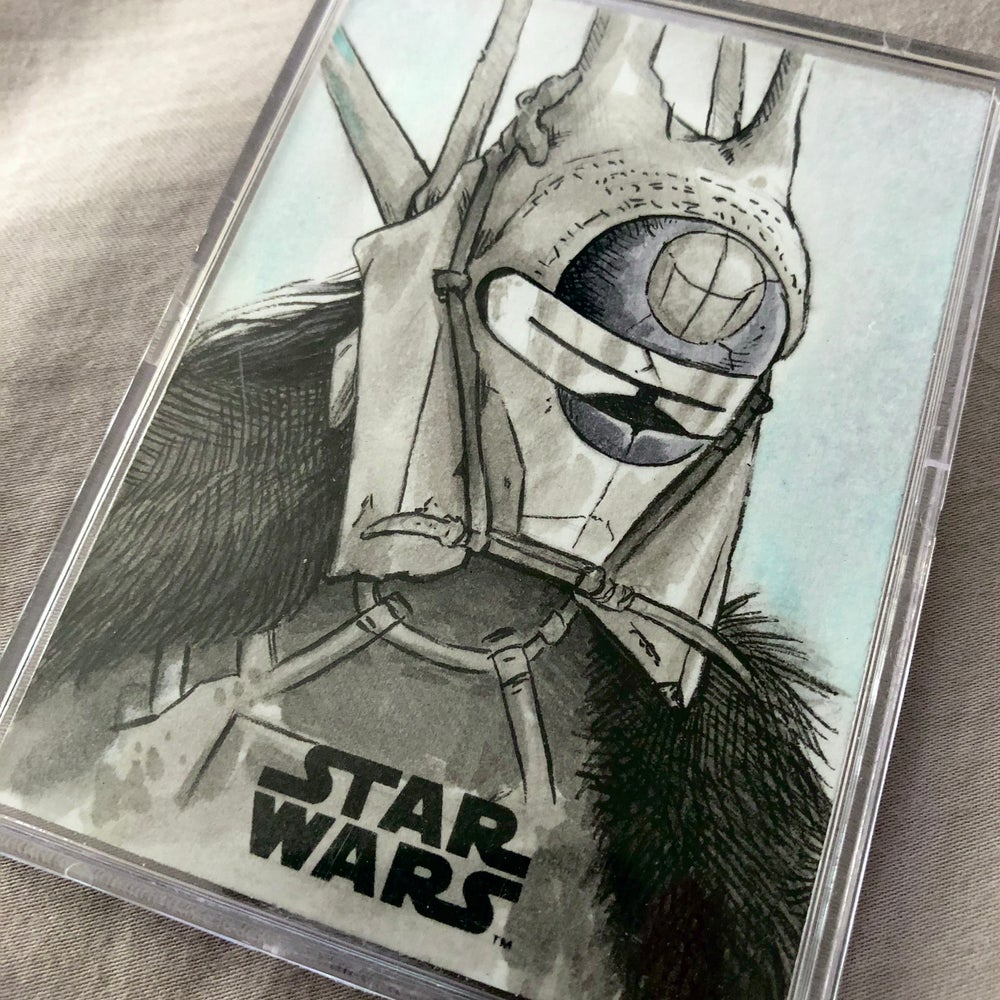Enfys Nest (official topps sketch card)