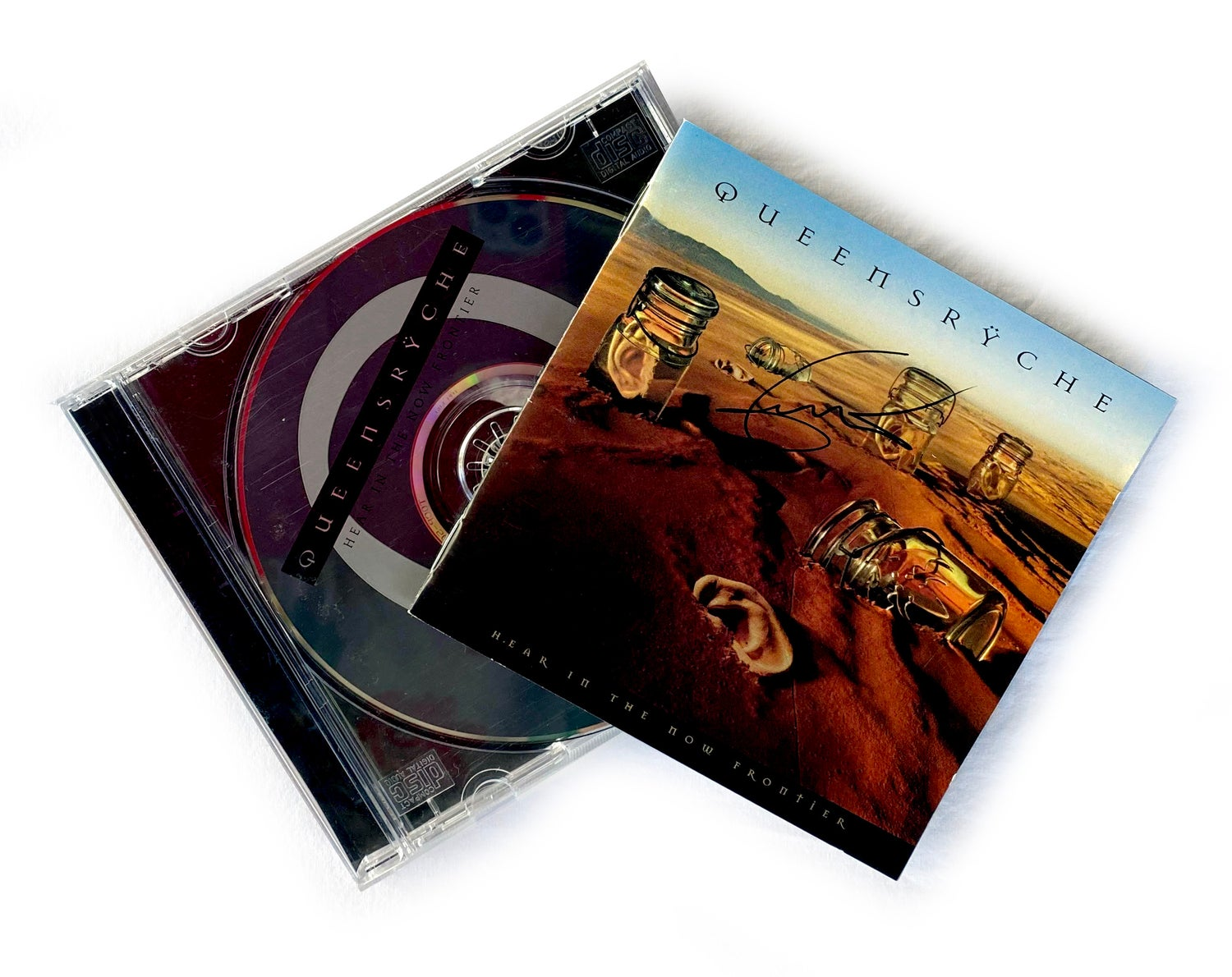 Image of CD (SIGNED) - Queensryche - 'Hear In The Now Frontier' - Signed by Geoff Tate