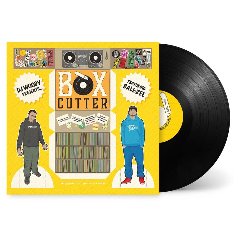 "Image of 12"" Vinyl - DJ Woody feat. Ball-Zee - Box Cutter"