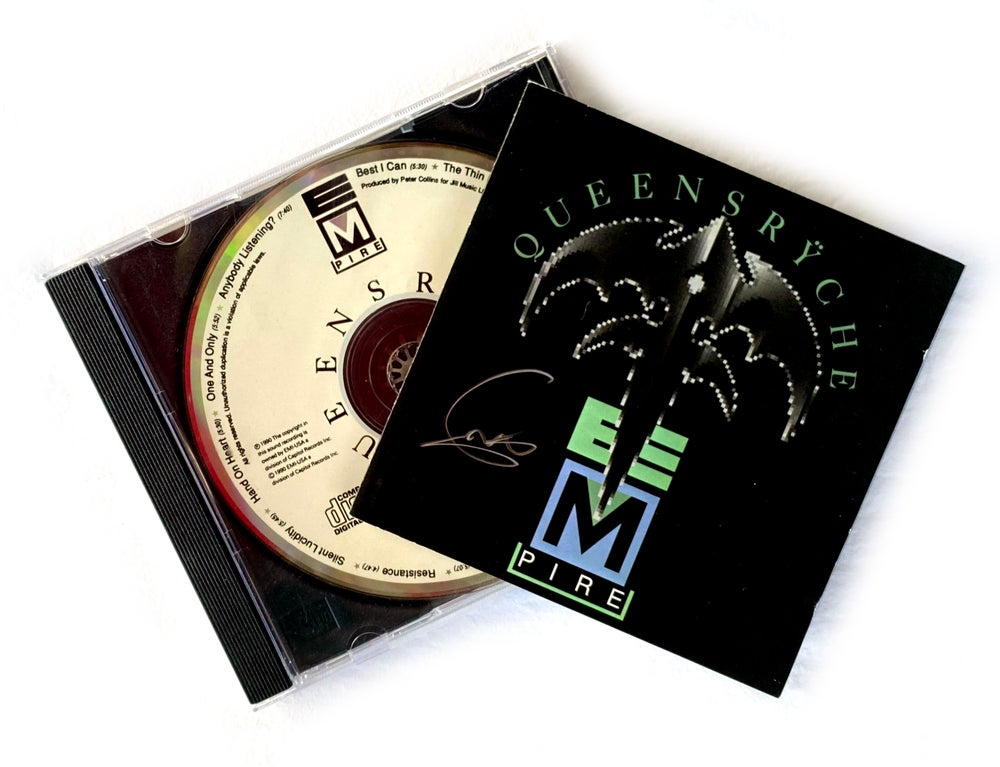 Image of CD (SIGNED) - Queensryche - 'Empire' - Signed by Geoff Tate
