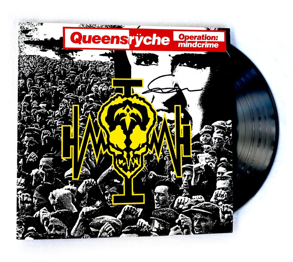 Image of QUEENSRYCHE - Operation Mindcrime - Vinyl LP Autographed