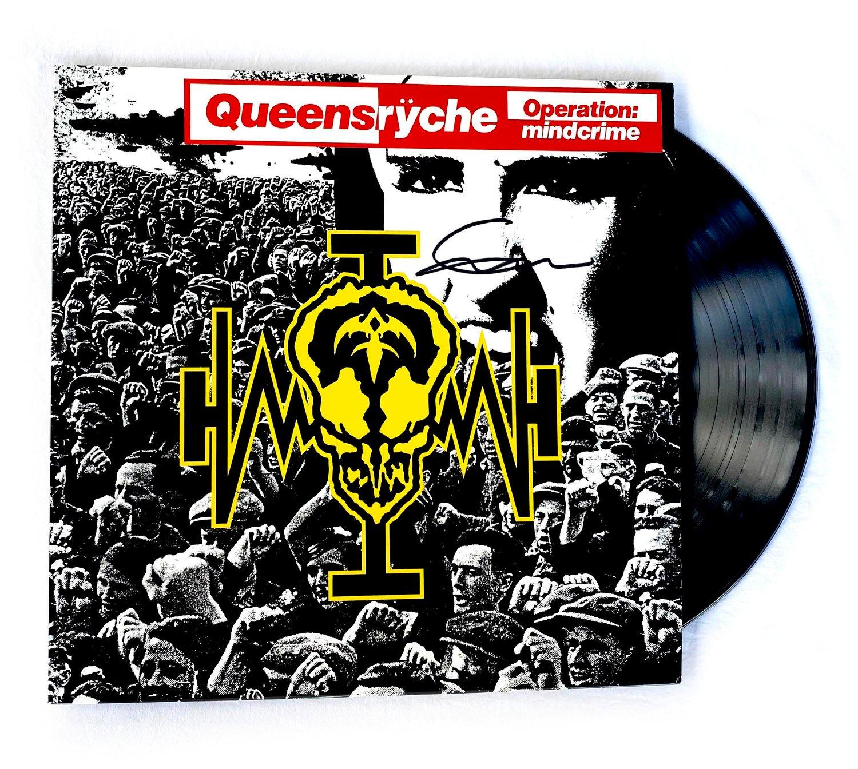 Image of QUEENSRYCHE - Operation Mindcrime - Vinyl LP Autographed