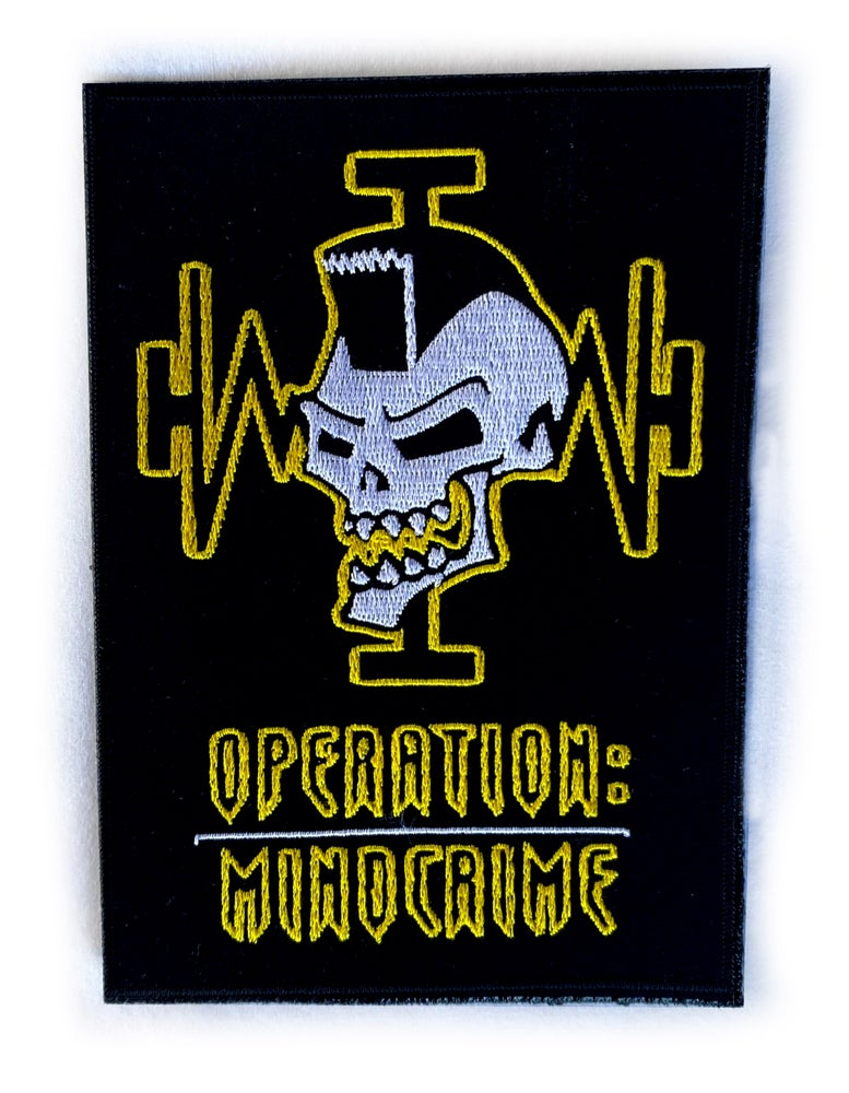 Image of GEOFF TATE - Operation Mindcrime/Yellow Skull - Aussie Tour Patch