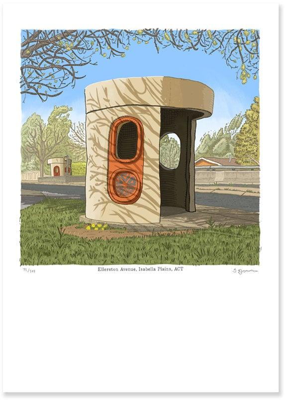 Image of Isabella Plains, Ellerston Ave, digital print