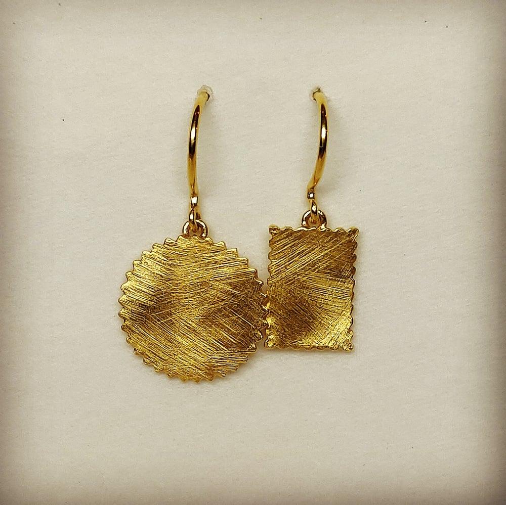 Beeld van Geometric earrings