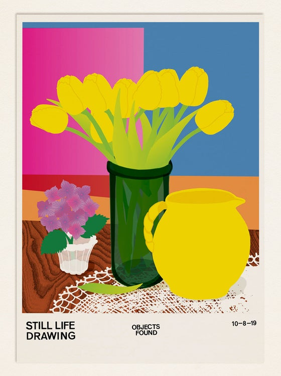 Image of Still Life Poster – Objects Found