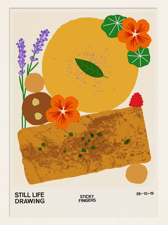 Image of Still Life Poster – Sticky Fingers