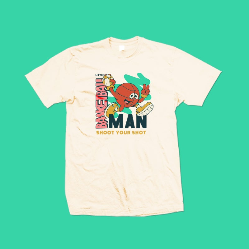 Image of Little Basketball Man Shirt (90s Edition)