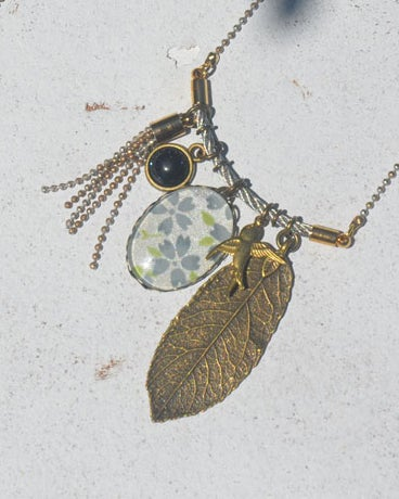 Image of garden charm cluster  necklace - Last one