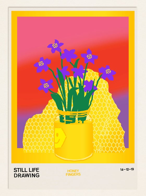 Image of Still Life Poster – Honey Fingers
