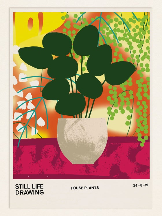 Image of Still Life Poster – House Plants