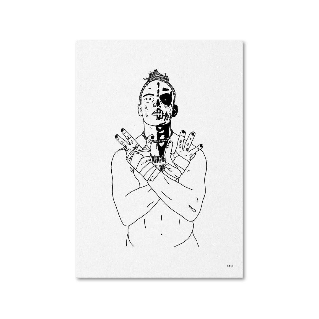 Image of Darby Allin Portrait Edition of 10