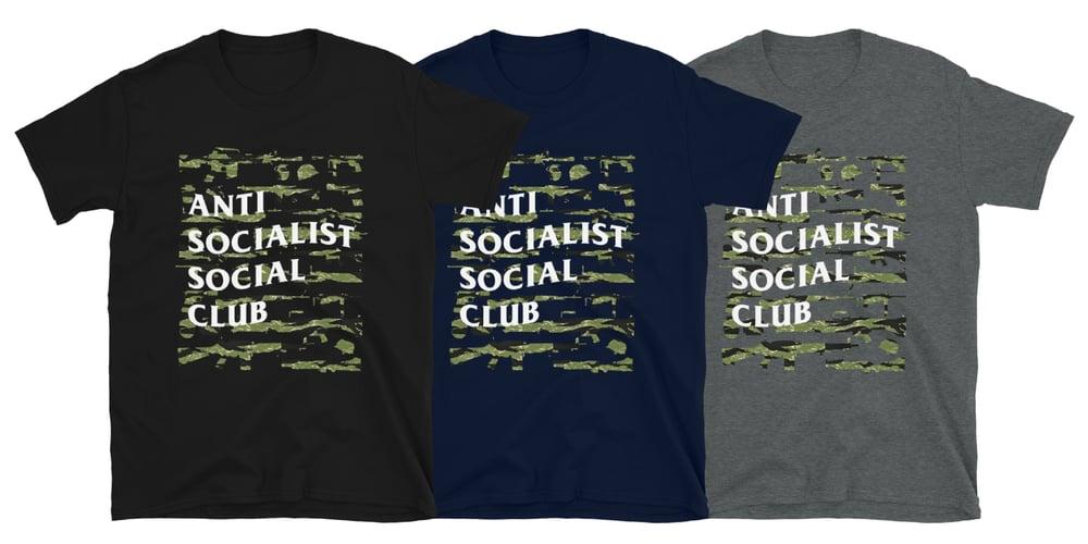 Tiger Stripe ASS Club Shirt