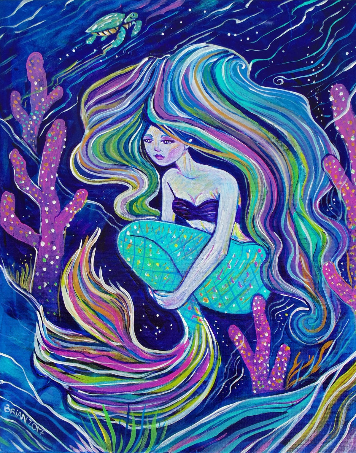 Image of Coral Mermaid.