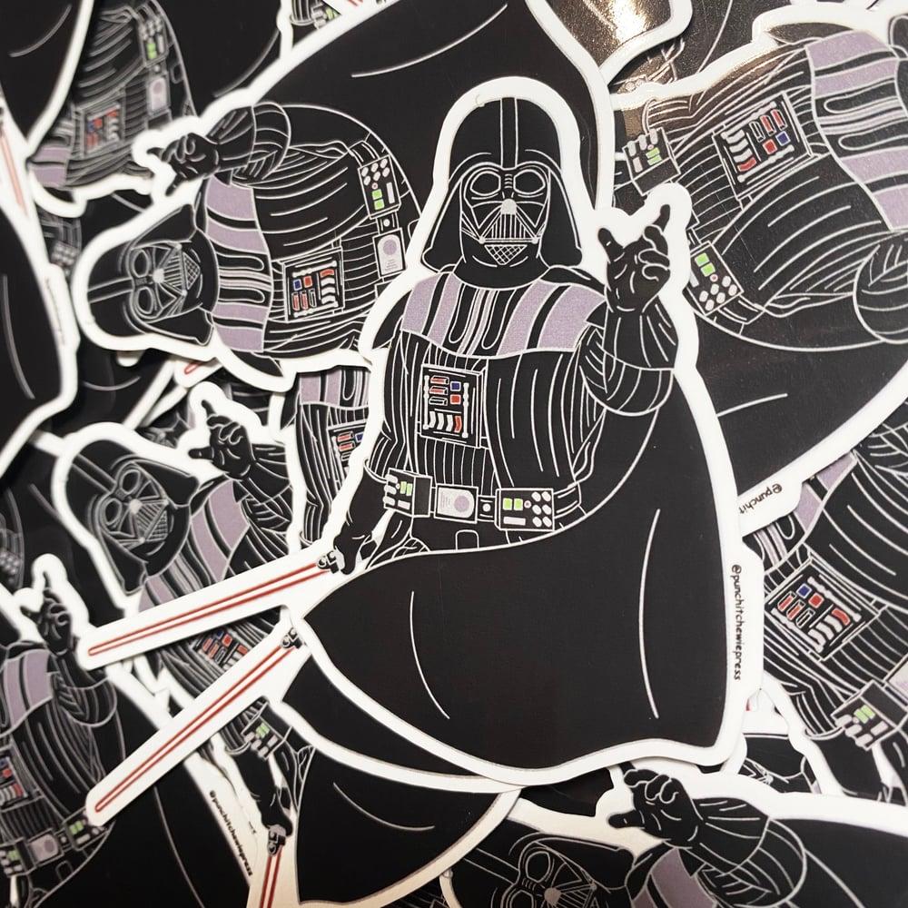 Image of Darth Vader Sticker