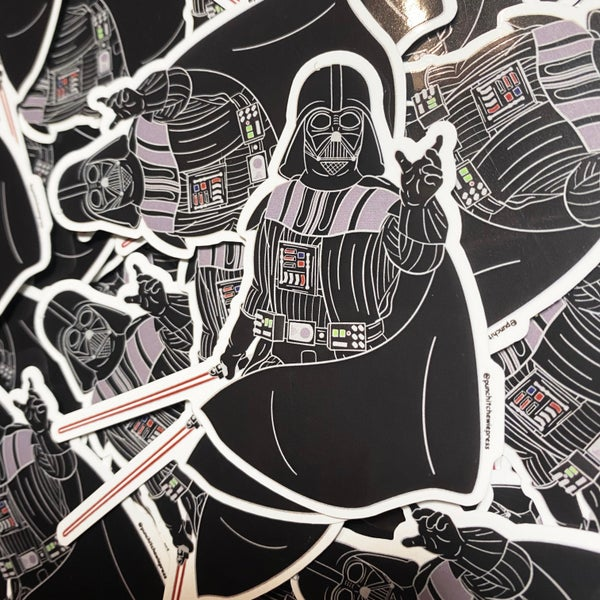Image of Darth Vader Sticker