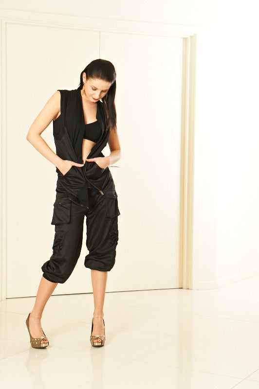 Image of 3/4 length Active Pants B6017 Dancewear latin ballroom