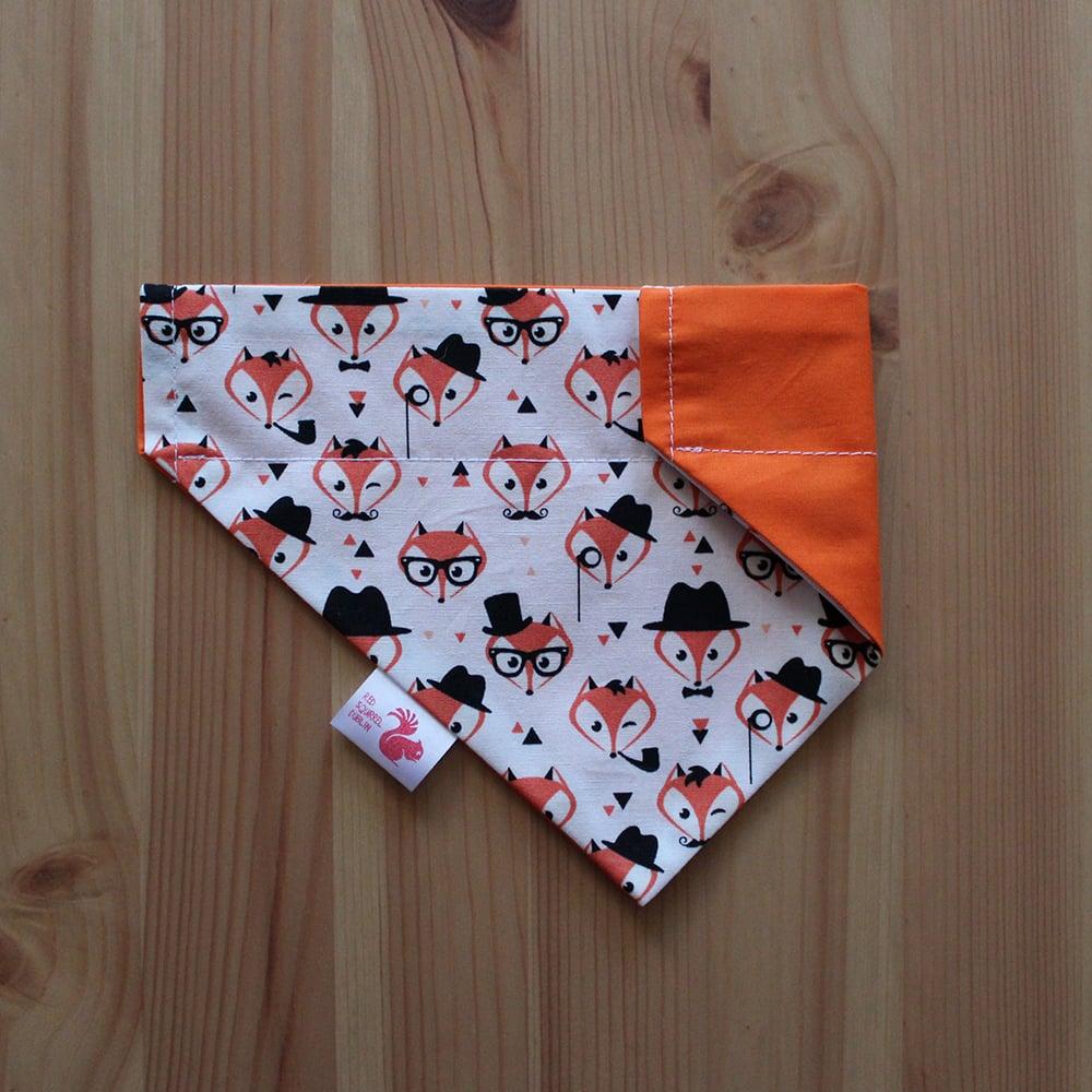 Image of Foxes dog & cat bandana