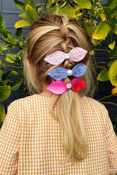 Image of Leaf Barrettes (Free Shipping!)