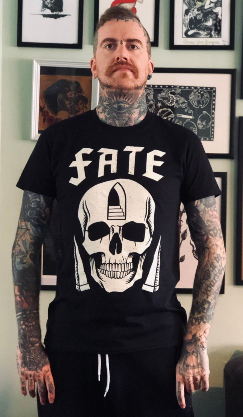 Image of Fate skull t-shirt