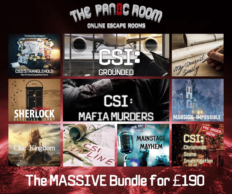 Image of Online Escape Room Bundle #4