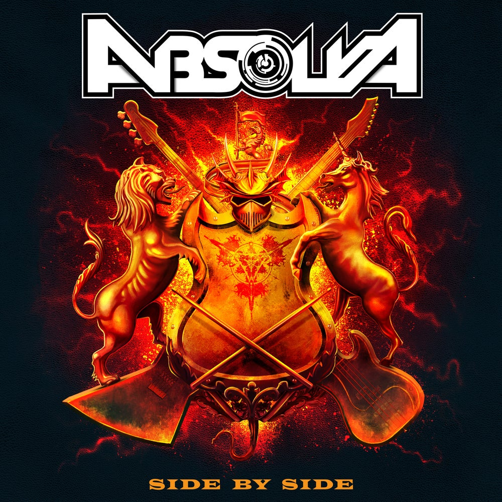 ABSOLVA 'Side By Side' CD