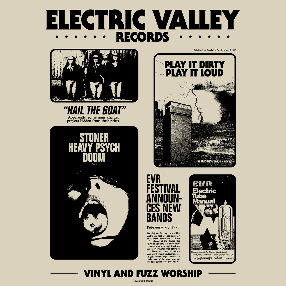 Image of Electric Valley - Revelation Studio T-shirt